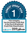 Dun & Bradstreet Lowest Credit Risk