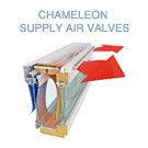Chameleon supply air valves